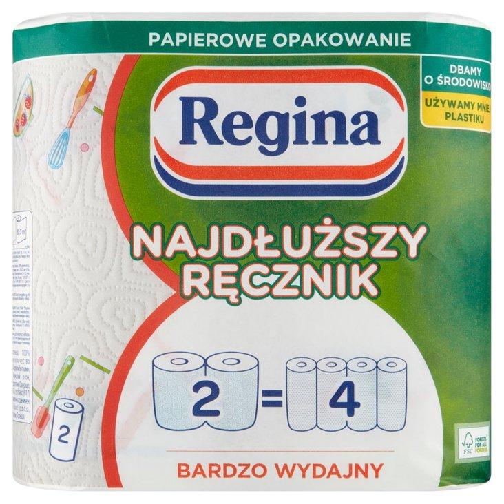 Regina Najdłuższy Ręcznik papierowy uniwersalny 2 rolki (2)