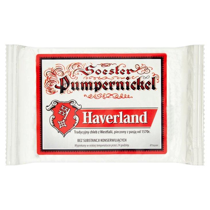 Haverland Pumpernickel krojony 250 g (1)