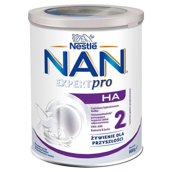 NAN EXPERTPRO HA 2 Mleko następne w proszku dla niemowląt powyżej 6. miesiąca 800 g (1)