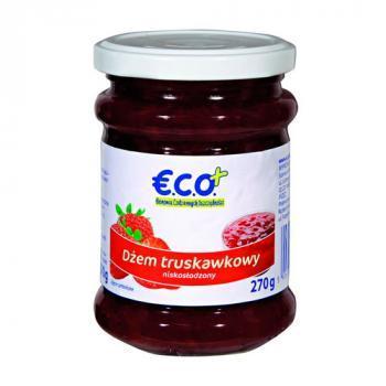€.C.O.+ dżem truskawkowy o obniżonej zawartości cukru 270g (1)