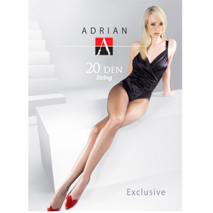 ADRIAN String Exclusive Rajstopy 20 DEN rozmiar 3 1 szt. (1)