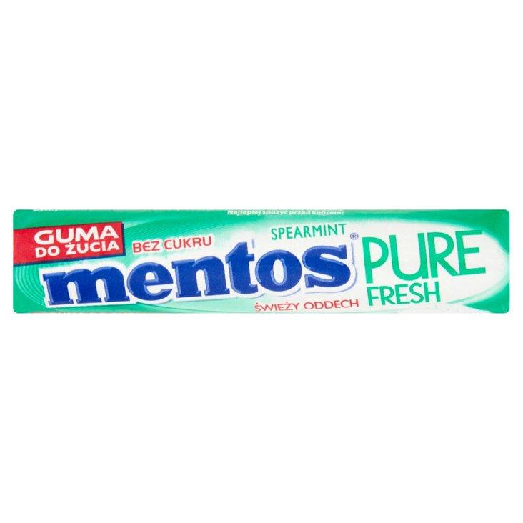 Mentos Pure Fresh Spearmint Guma do żucia bez cukru 15,5 g (8 sztuk) (1)