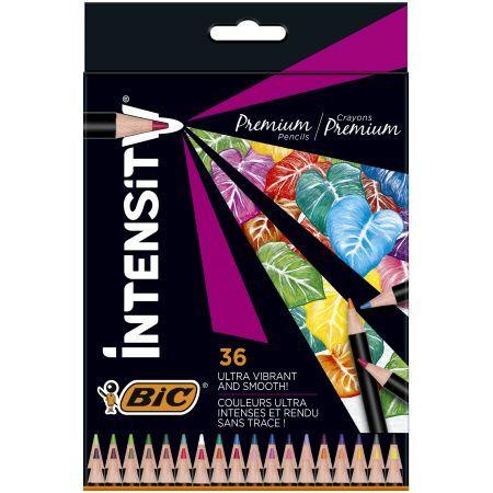 Bic Kredki ołówkowe Intensity Premium w pudełku 36 kolorów (1)