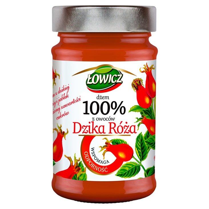 Łowicz Dżem 100% z owoców dzika róża 235 g (1)