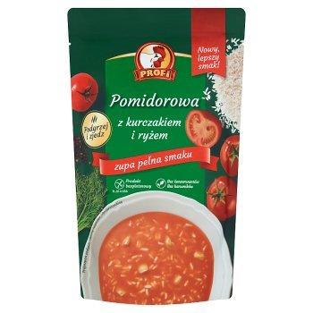 Profi Pomidorowa z kurczakiem i ryżem 450 g (1)