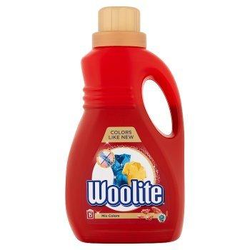 Woolite Płyn do prania tkanin do kolorów z keratyną 0,9 l (15 prań) (1)