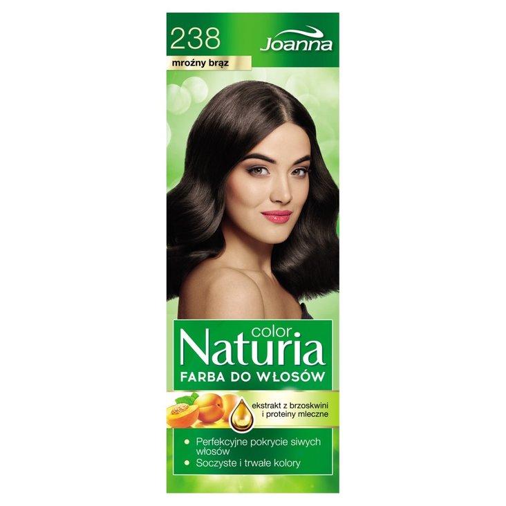 Joanna Naturia color Farba do włosów mroźny brąz 238 (2)