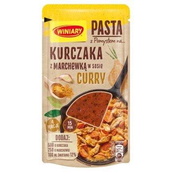 Winiary Pasta z pomysłem na... kurczaka z marchewką w sosie curry 80 g (1)