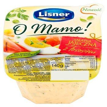 Lisner O Mamo! Sałatka jajeczna z łososiem 140 g (1)
