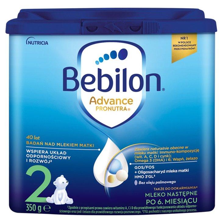 Bebilon 2 Pronutra-Advance Mleko następne po 6. miesiącu 350 g (1)