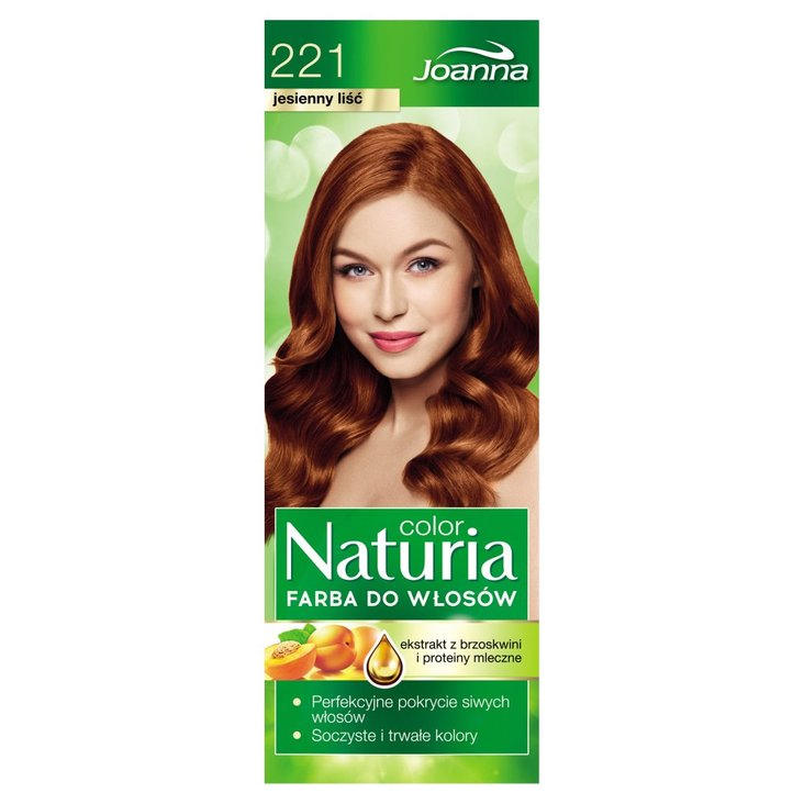 Joanna Naturia color Farba do włosów jesienny liść 221 (2)