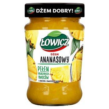 Łowicz Dżem ananasowy o obniżonej zawartości cukrów 280 g (1)