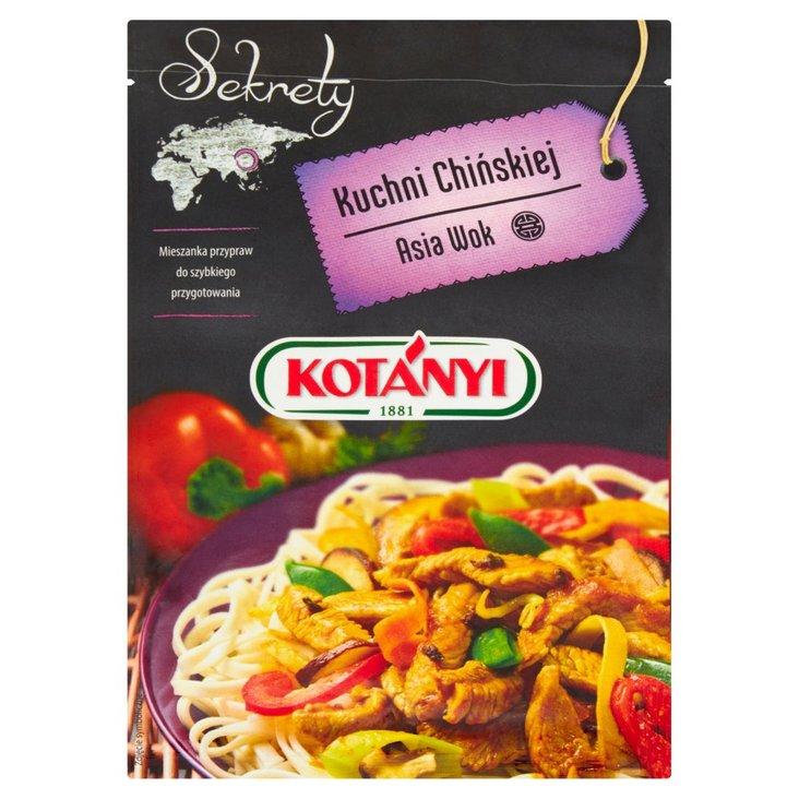 Kotányi Sekrety Kuchni Chińskiej Asia Wok Mieszanka przypraw 20 g (1)