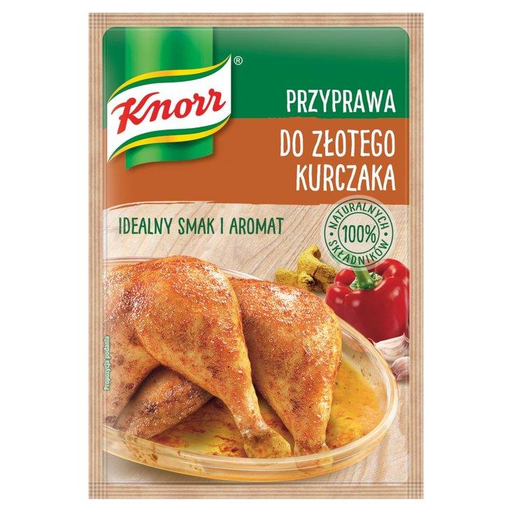 Knorr Przyprawa do złotego kurczaka 23 g (1)