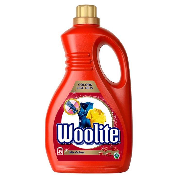 Woolite Płyn do prania tkanin do kolorów z keratyną 2,7 l (45 prań) (1)