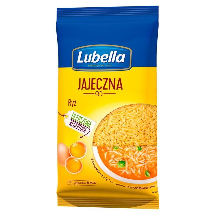 Lubella Jajeczna Makaron ryż 250 g (1)