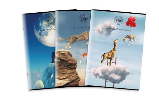 Zeszyt Top-2000 Amazing Animals A4 60k. Kratka (1)