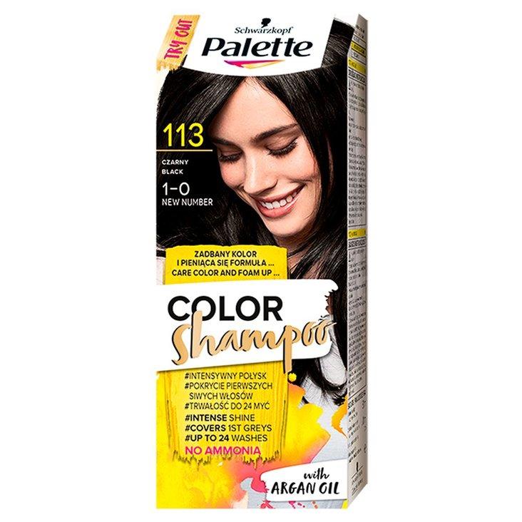 Palette Color Shampoo Szampon koloryzujący czarny 1-0 (1)