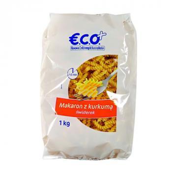 €.C.O.+  Makaron z kurkumą świderek 1kg (1)