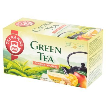 Teekanne Herbata zielona z imbirem o smaku mango i cytryny 35 g (20 x 1,75 g) (1)