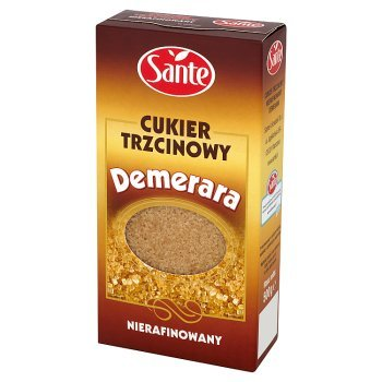 Sante Demerara Cukier trzcinowy nierafinowany 500 g (1)