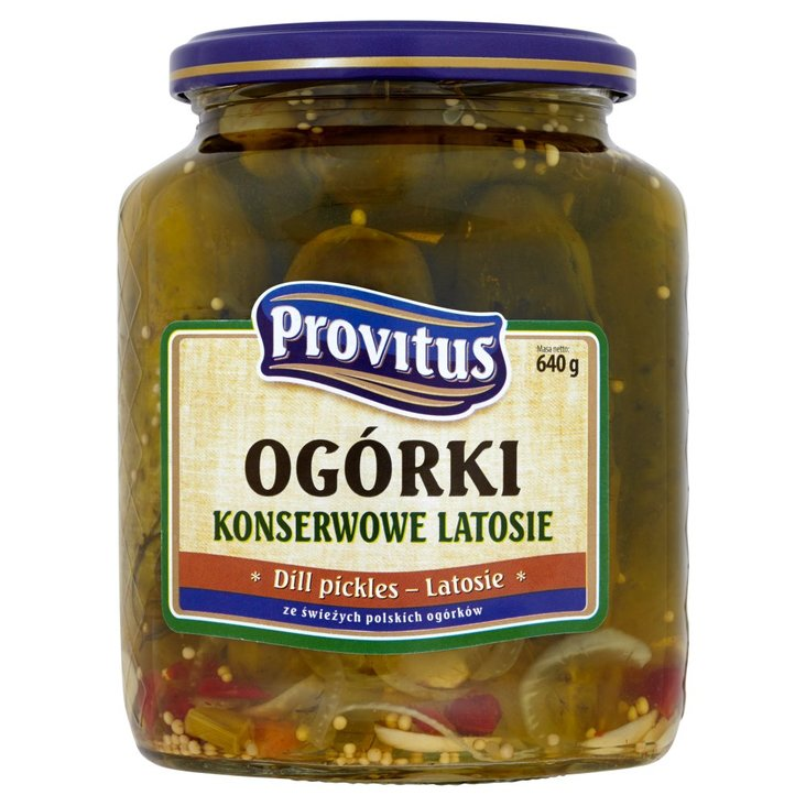 Provitus Ogórki konserwowe latosie 640 g (2)
