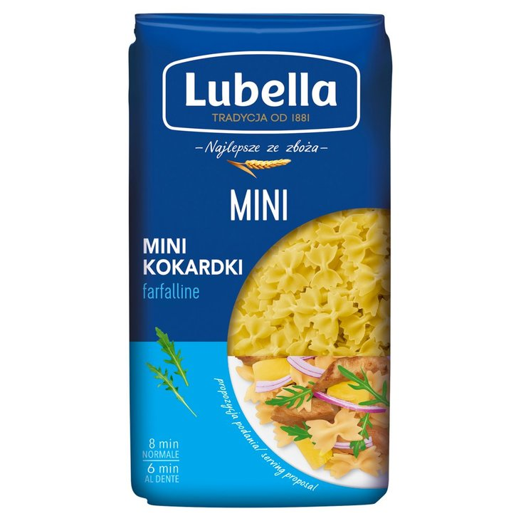 Lubella Makaron mini kokardki 400 g (2)