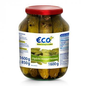 €.C.O.+ Ogórki konserwowe 1600 (1)