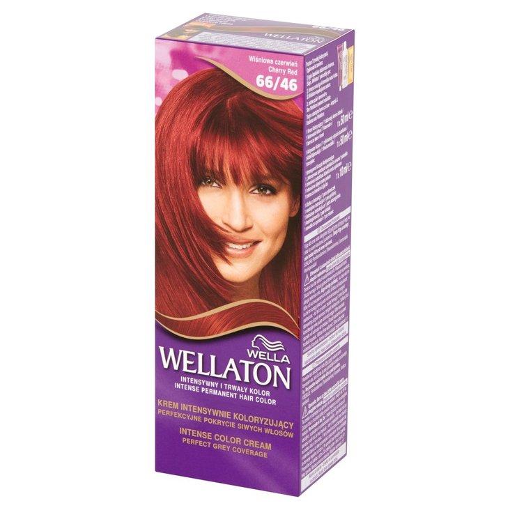 Wella Wellaton Krem intensywnie koloryzujący wiśniowa czerwień 66/46 (1)