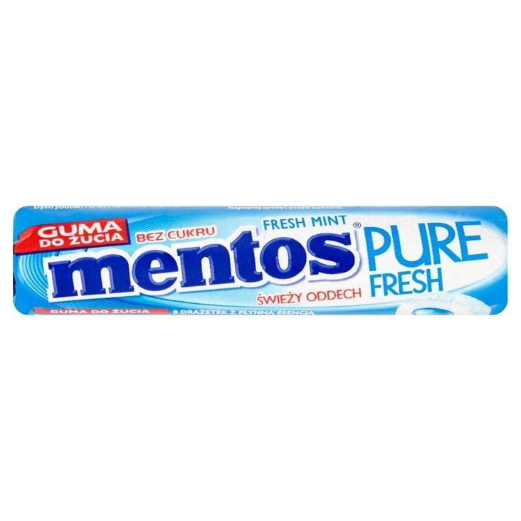 Mentos Pure Fresh Fresh Mint Guma do żucia bez cukru 15,5 g (8 sztuk) (1)