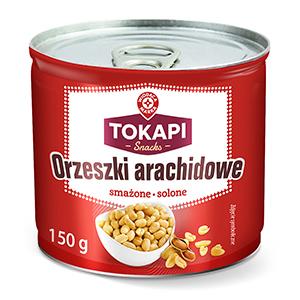 WM Orzeszki arachidowe smażone solone 150g (1)