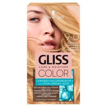 Schwarzkopf Gliss Color Farba do włosów naturalny jasny blond 9-0 (1)