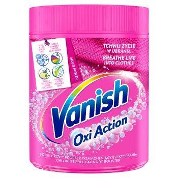 Vanish Oxi Action Odplamiacz do tkanin w proszku 470 g (1)