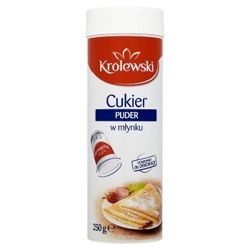 Cukier Królewski Cukier puder w młynku 250 g (2)