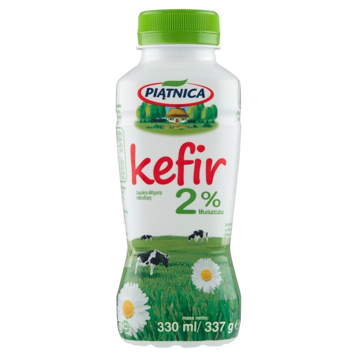 Piątnica Kefir 2% tłuszczu 330 ml (1)