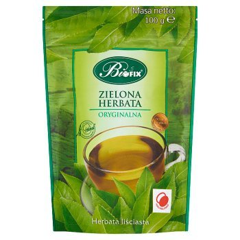 Bifix Zielona oryginalna Herbata liściasta 100 g (1)