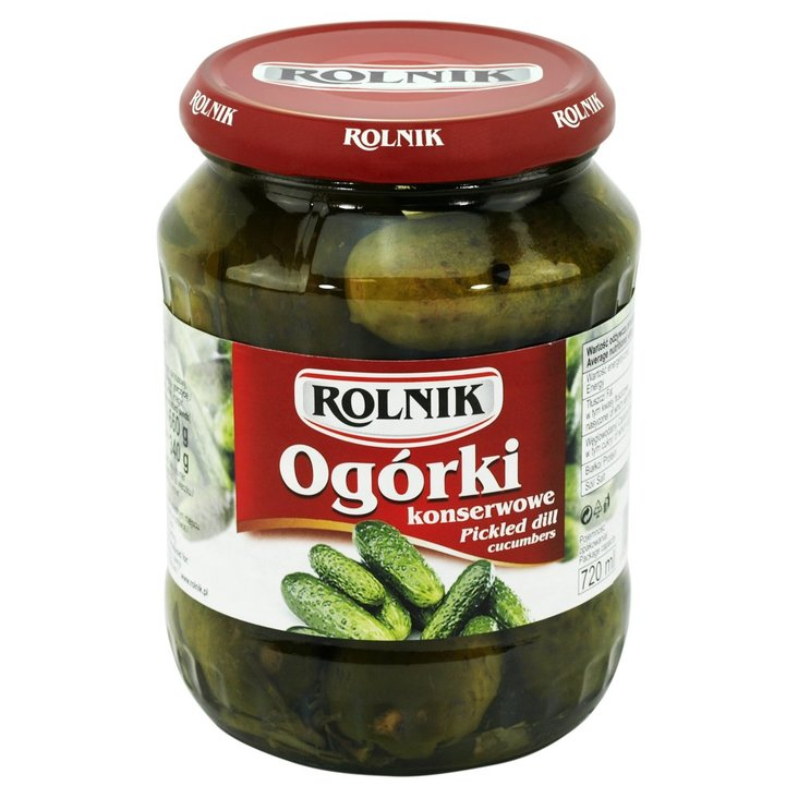 Rolnik Ogórki konserwowe 660 g (1)