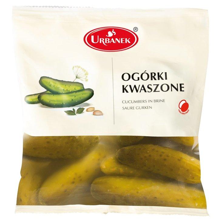 Urbanek Ogórki kwaszone 930 g (1)