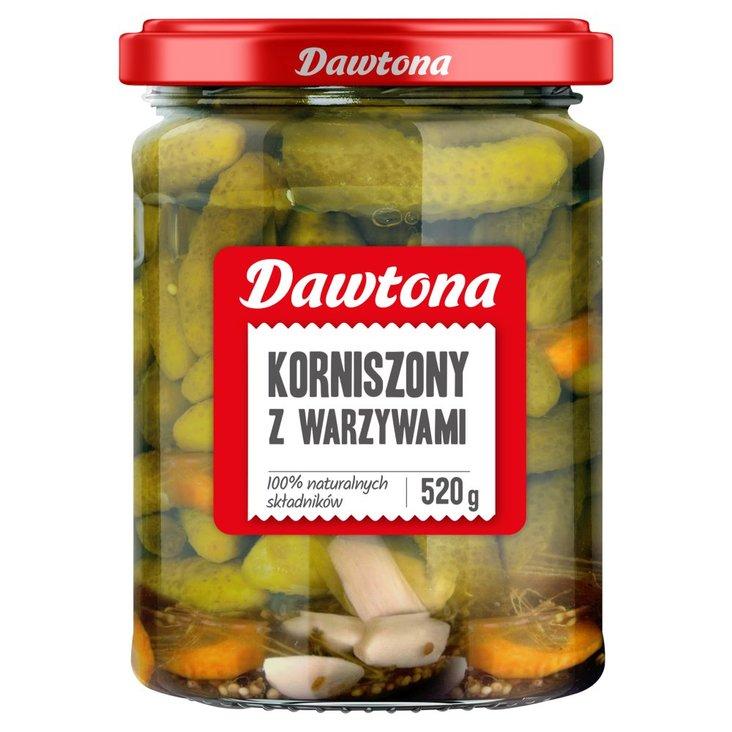 Dawtona Korniszony z warzywami 520 g (1)