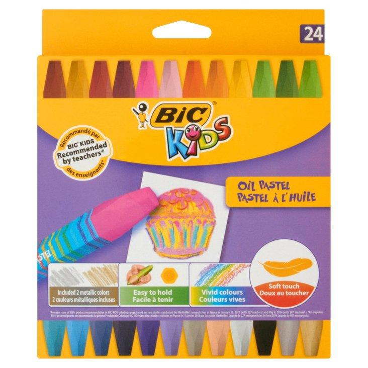 BiC Kids Kreatywne pastele olejne 24 kolory (1)