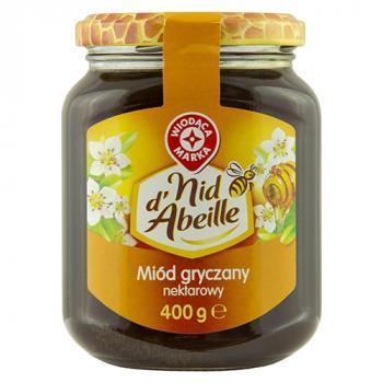 WM miód gryczany nektarowy  400g (1)