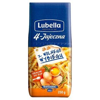 Lubella 4-Jajeczna Makaron świderki 250 g (2)
