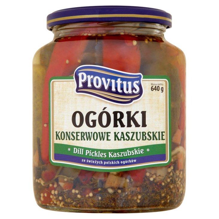 Provitus Ogórki konserwowe kaszubskie 640 g (2)
