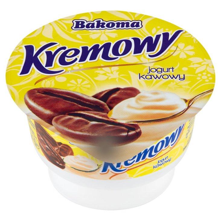 Bakoma Kremowy Jogurt kawowy 150 g (1)