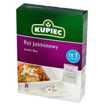 Kupiec Ryż jaśminowy 400 g (4 torebki) (1)