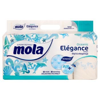 Mola Elégance Oceanic Papier toaletowy 8 rolek (2)