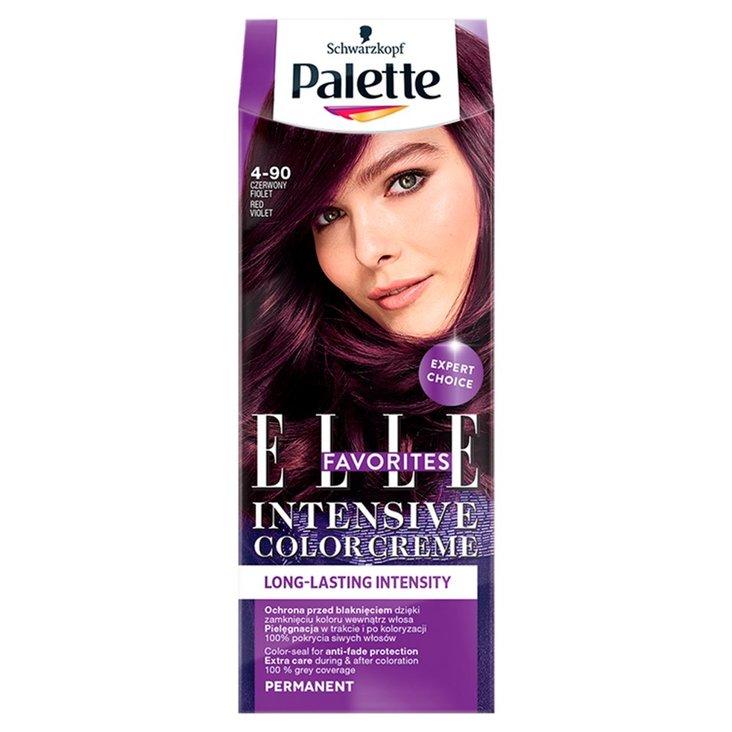 Palette Intensive Color Creme Elle Favorites Farba do włosów czerwony fiolet 4-90 (1)