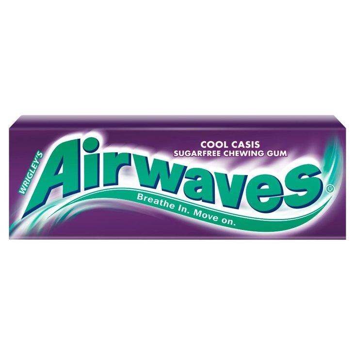 Airwaves Cool Cassis Guma do żucia bez cukru 14 g (10 drażetek) (1)