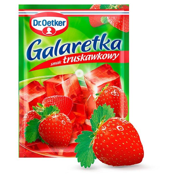 Dr. Oetker Galaretka o smaku truskawkowym 77 g (1)