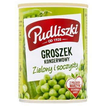 Pudliszki Groszek konserwowy 400 g (2)